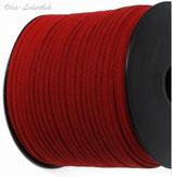 Flechtband Rot 3mm oder 5mm