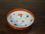 玩具紋 21cm鉢