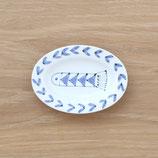 楕円皿魚(小)DSF002