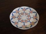 蘭つなぎ紋 17cm皿