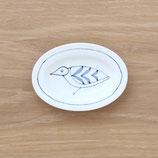 楕円皿鳥(小)DSB004