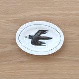 楕円皿鳥(小)DSB005