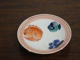 鯛と打ち出の小槌 豆皿