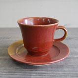 夕紅 コーヒーカップ&ソーサー