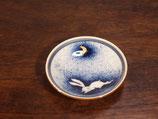 月とうさぎ 豆皿