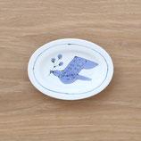 楕円皿鳥(小)DSB002