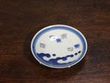 波千鳥 豆皿