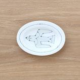 楕円皿鳥(小)DSB003