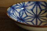 麻の葉紋 22cm鉢