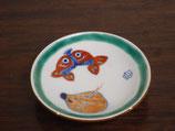 イノシシと魚 豆皿