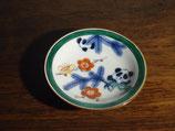 染錦パンダ文 9.5cm皿