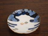 雲に松 豆皿