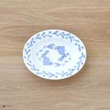 ウサギ楕円皿(大)