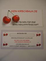 Gutschein Kirschbaumpatenschaft