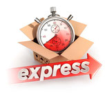 Expressfertigung für Ihre Taufkerze, Hochzeitskerze, etc.