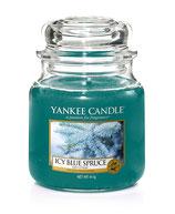 Ice Blue Spruce - mittlerer Housewarmer von Yankee Candle