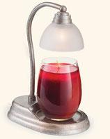 AURORA Lampe für Duftkerzen im Glas taupe