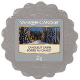 Candlelit Cabin, Wax Melt, Tart, Yankee Candle