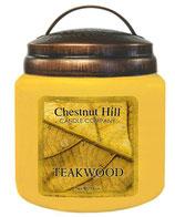 Teakwood - Chestnut Hill Candles - Duftkerze im Vintageglas