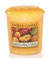 Mango Peach Salsa Votivkerze