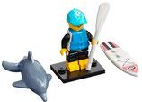 col21-1  paddle    board      surfster met dolfijn