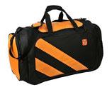 Sport Tasche in den Farben Schwarz-Orange