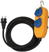 Schutzkontaktverlängerung mit Powerblock 5 m H07RN-F 3 x 1,5 mm² IP54 BRENNENSTUHL