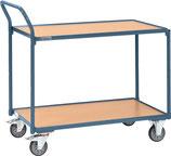 Tischwagen 2 Ladeflächen L850xB500mm Trgf.300 kg PROMAT