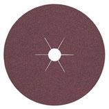 Fiberscheibe D. 125 mm Körnung 24-120 für Holz / Metall Korund PROMAT