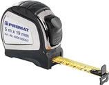 Taschenrollbandmaß Länge 2-8m Breite 16-25mm EG II 2K Automatic PROMAT