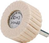 Lamellenpolierer D. 20-80mm soft+medium PROMAT