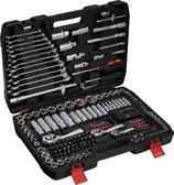 Steckschlüsselsatz 215-teilig 1/4 + 3/8 + 1/2 Zoll Schlüsselweiten 4-32 mm 6-Kant NOW