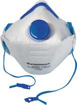 Atemschutzmaske Shark FFP2 / V mit Ausatemventil, faltbar PROMAT