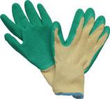 Handschuhe Specialgrip Größe 9 o. 10 gelb/grün EN 388 PSA-Kategorie II STRONGHAND