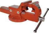 Parallelschraubstock B-Breite 120-160mm Spannweite 150-225mm mit Rohrspannbacken PROMAT