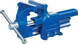 Parallelschraubstock B-Breite 100-180mm Spannweite 125-225mm mit Rohrspannbacken PROMAT
