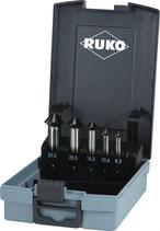 Kegelsenkersatz DIN 335 C 90 Grad ULTIMATECUT 6,3-25,0 mm HSS-Co5 RUnaTEC 5-teilig RUKO