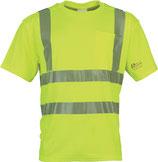 Warnschutz T-Shirt Prevent® Trendline Gr. M-XXXL neongelb o. leuchtorange PREVENT TRENDLINE