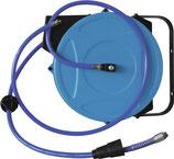 Schlauchaufroller für Druckluft Schlauchlänge 15m Ausgangsanschluss G 3/8 EWO