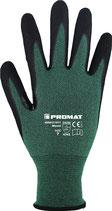 Schnittschutzhandschuhe Mosel Größe 7-11 grün/schwarz EN 388 PROMAT
