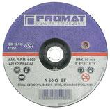 Trennscheibe INOX D125 x 1mm o. 1,5mm gerade INOX PROMAT