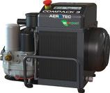 Schraubenkompressor Aerotec COMPACK 3 10 bar 360 l/min 400 V,50 Hz 3 kW AEROTEC