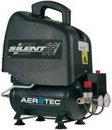 Kompressor Aerotec Vento Silent 6 110 l/min 0,7 kW 230 V,50 Hz 6 l AEROTEC