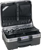 Schalenkoffer Trolleyversion Innen-B465xT255xH352mm HDPE-Kunststoff 42 l PROMAT