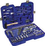 Steckschlüssel-/Handwerkzeugkoffer 131-teilig SW 4-32 + 8-19 mm PROMAT
