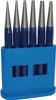 Durchtreibersatz 6-tlg. 1-2-3-4-5 + Körner-D. 4mm Kunststoffhalter PROMAT