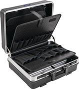 Schalenkoffer B500xT225xH430mm 33 l ABS-Kunststoff Alu-Rahmen PROMAT