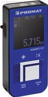 Laserentfernungsmesser 15 m ± 3 mm IP 54 PROMAT