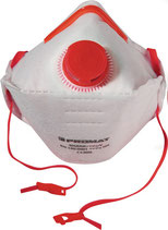 Atemschutzmaske Shark FFP3 / V NR D mit Ausatemventil, faltbar PROMAT