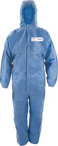 Schutzoverall CoverTex® Größe L-XXXL blau o. weiß PSA-Kategorie III PROMAT